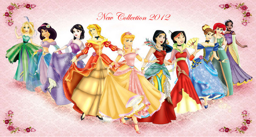new collection princess Disney