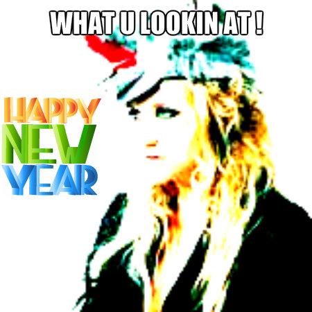 newyear,kesha,hats,album