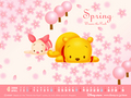 pooh  - my-melody wallpaper