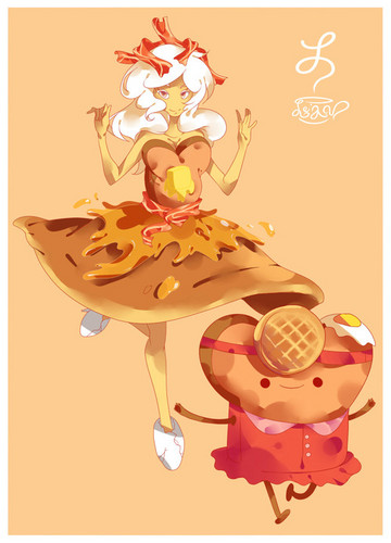 princess breakfest and toast