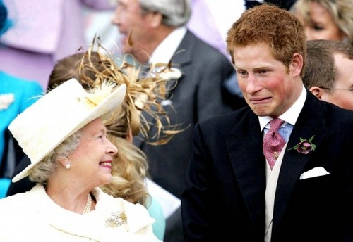 reyna elizabeth ii harry william