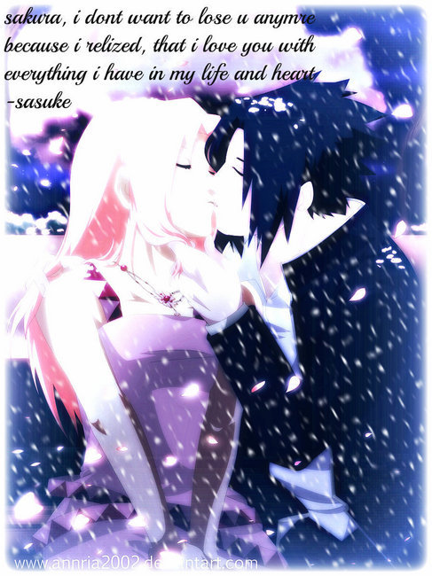 Cute Naruto Couples Images Sasuke And Sakura Wallpaper And