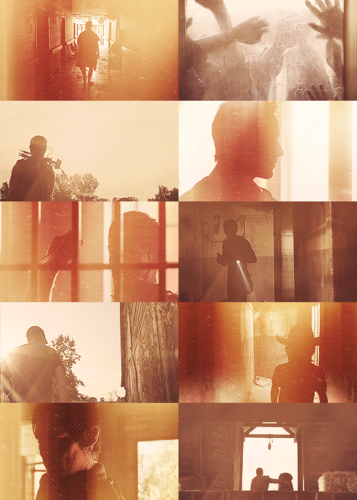 the walking dead wallpaper called screencap meme → Silhouettes + The Walking Dead