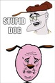 stupid dog - courage-the-cowardly-dog fan art