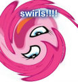 swirls!!!! - pinkie-pie fan art