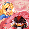 thanks guys - sonic-the-hedgehog fan art