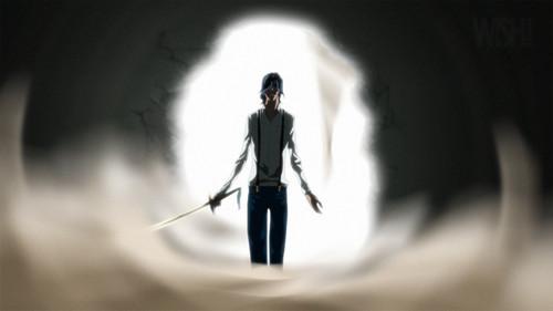 Bleach anime achtergrond entitled tsukishima