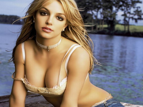 Britney Spears wallpaper possibly with a bikini titled  Britney