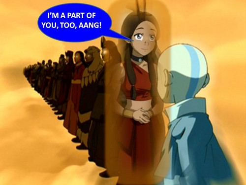 'I'm a part of you, too, Aang'