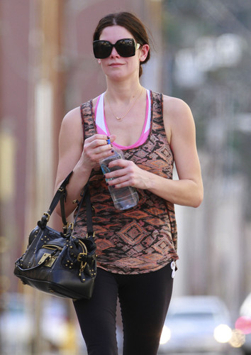 January 22 – Leaving the Gym in Los Angeles