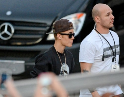 [January 26] Arriving at American Airlines Arena in Miami