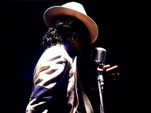 Michael Jackson wallpaper possibly with a concert titled ♥ Michael ♥
