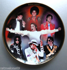 A Vintage Michael Jackson Collector's Plate