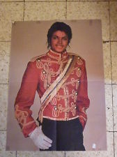 "A Vintage Michael Jackson Poster From the ""'80's"""
