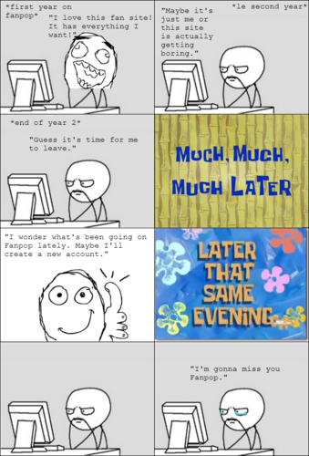 A true story in rage faces.