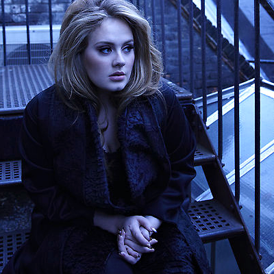 Adele Hintergrund with a holding cell called Adele