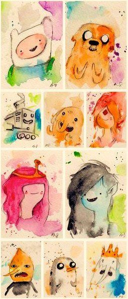 Adventure Time Paintings