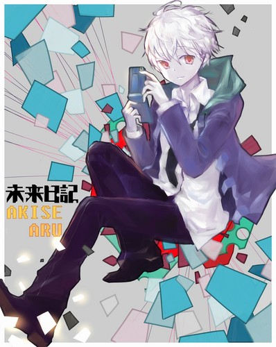mirai nikki Обои containing Аниме entitled Akise Aru
