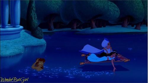 aladdin and Jasmine(and Ariel)