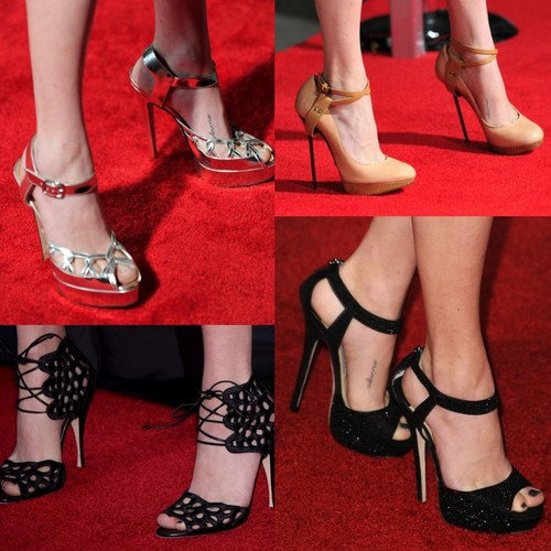 Amanda Seyfried's shoes