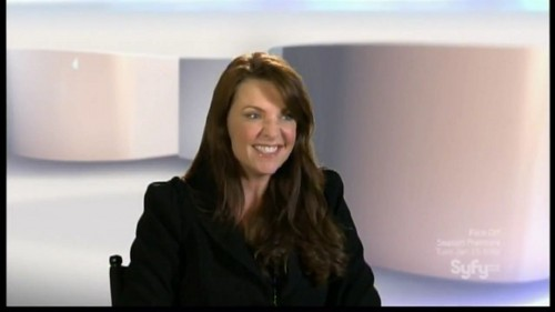 Amanda Tapping achtergrond possibly containing a portrait called AmandaT