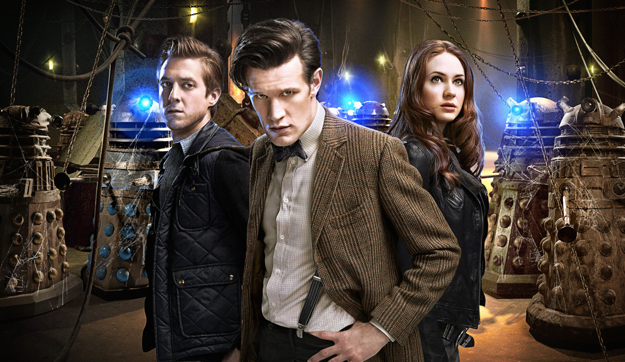 Amy, Rory and The Doctor ♥