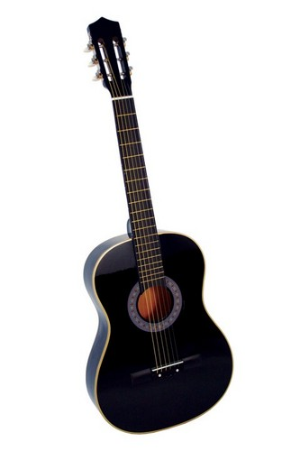 An identical image of my black acoustic gitaar