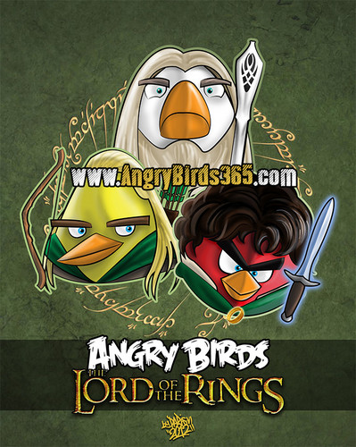 Angry Birds Lord of the Rings