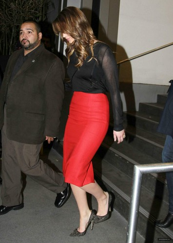 Arriving At Piers मॉर्गन (31/1/2013) [HQ]