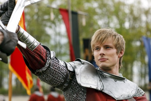 Bradley James wallpaper containing a breastplate called Arthur Pendragon