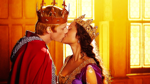 Arwen's Last Kiss On Merlin