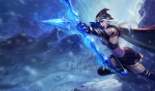 League of Legends wallpaper called Ashe