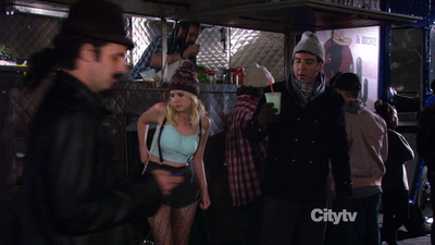 Ashley in How I met your mother
