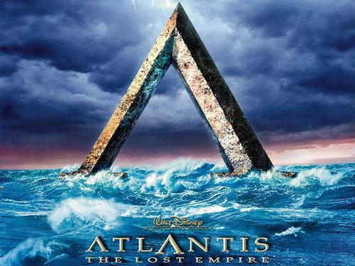 Atlantis The Lost Empire karatasi la kupamba ukuta