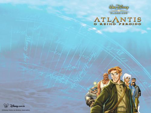 Atlantis The 迷失 Empire 壁纸