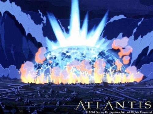 Atlantis The Lost Empire fond d'écran