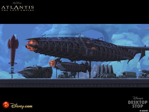 Atlantis The lost Empire fondo de pantalla