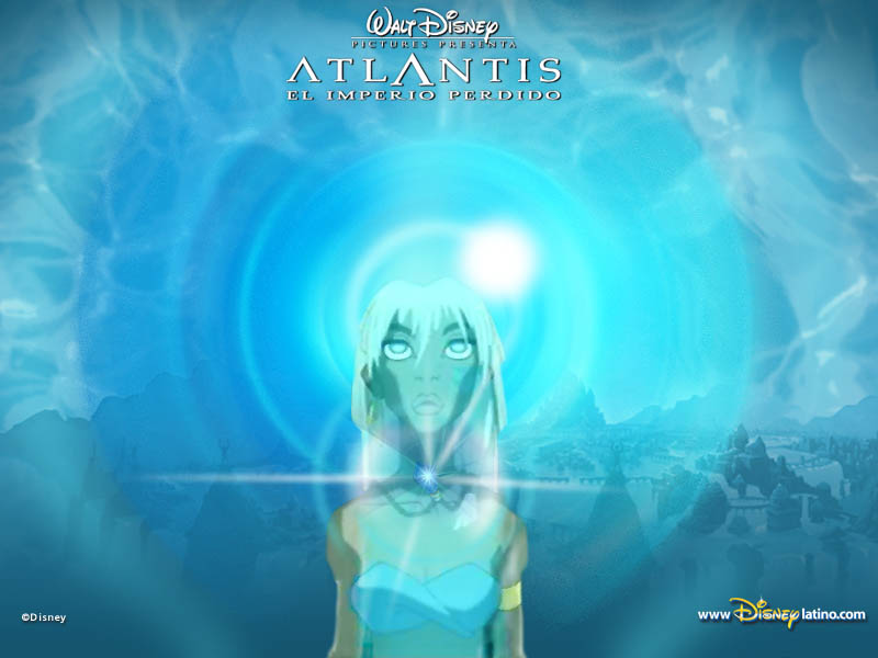 Atlantis The लॉस्ट Empire वॉलपेपर
