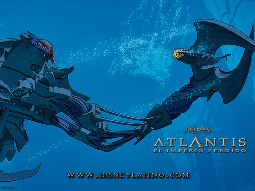 Atlantis: The Lost Empire fond d'écran probably with a diving suit and a fontaine called Atlantis The Lost Empire fond d'écran