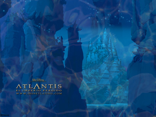 Atlantis The Lost Empire Hintergrund