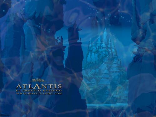 Atlantis The Mất tích Empire hình nền
