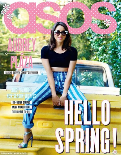 Aubrey Model the March cover shoot for ASOS Magazine, 2013