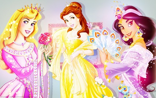 Aurora, Belle and hoa nhài ~ ♥