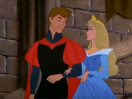 Sleeping Beauty wallpaper possibly with a surcoat titled Aurora and Philip