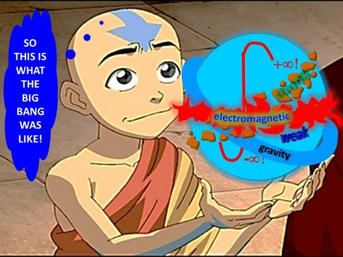 avatar Aang recreates the Primordial Singularity