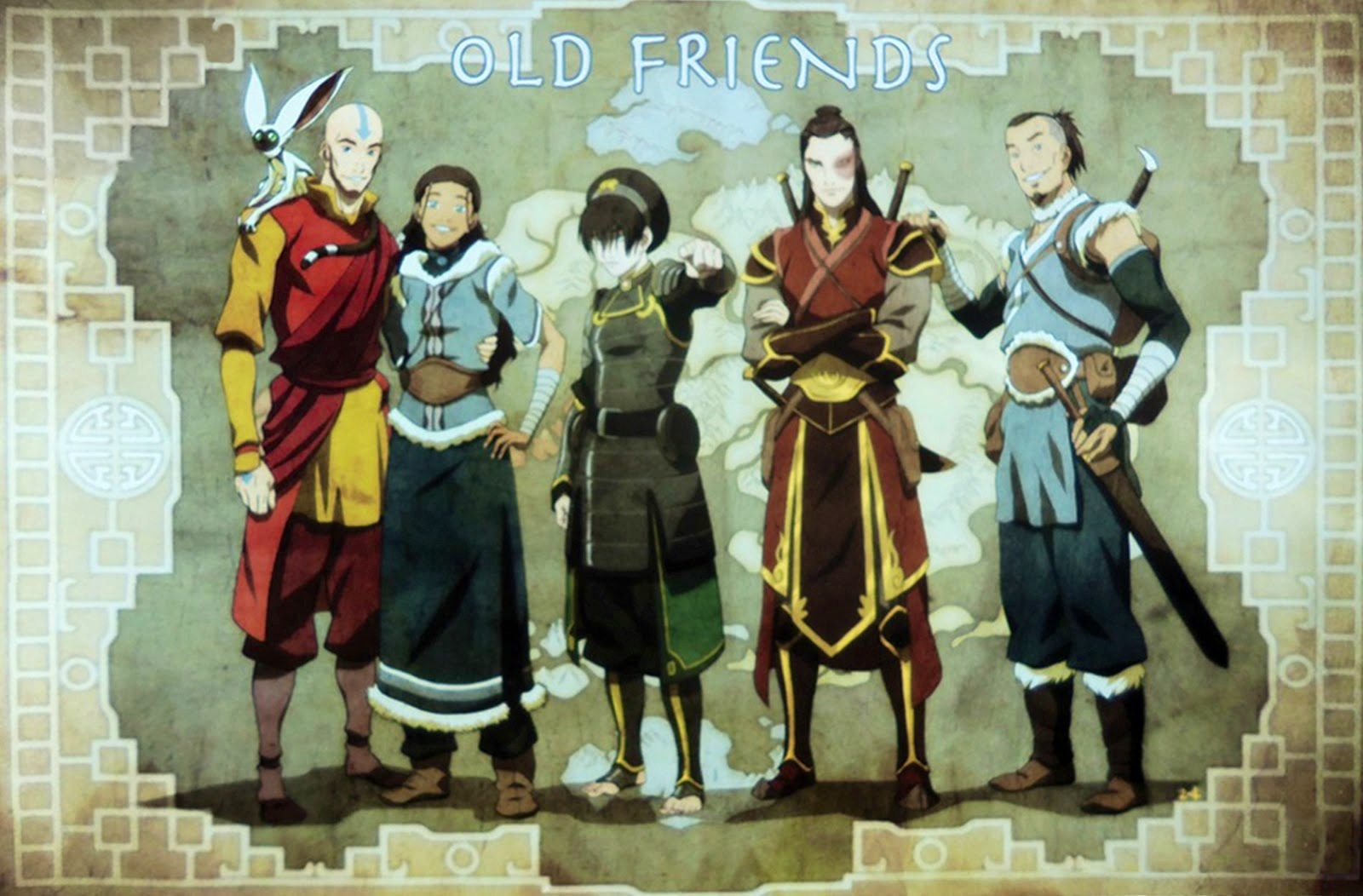 Avatar the last airbender awesome avatar pictures