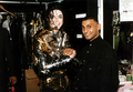 Backstage During The History Tour - michael-jackson photo