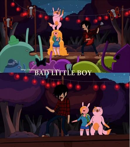ফিন ও জ্যাকের সাথে অ্যাডভেঞ্চার টাইম দেওয়ালপত্র entitled Bad Little Boy