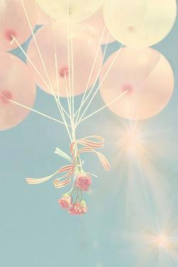 Beautiful Pictures karatasi la kupamba ukuta entitled Balloons