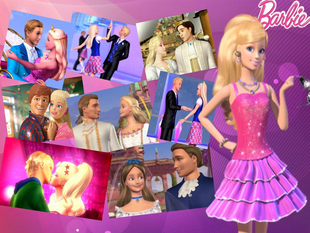 Barbie movies barbie love story